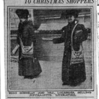 """Page 094 : Sell """"The Suffragette"""" to Christmas Shoppers"""