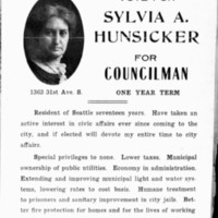 Page 080 : Vote for Sylvia A. Hunsicker for Councilman