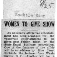 Page 146 : Women to Give Show