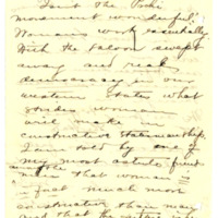 Letter from Adella Parker to Emma Smith DeVoe, 4/13/1908, page 6