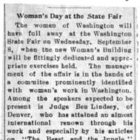Page 187 : Woman's Day at the State Fair