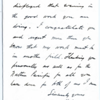Letter from H. Nutt to Emma Smith DeVoe, 4/14/1912, page 2