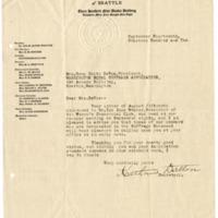 Letter from Katherine Dalton to Emma Smith Devoe, 9/14/1910, page 1