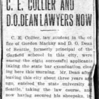 Page 046 : C.E. Collier And D.O. Dean Lawyers Now