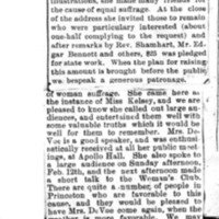 Page 055 : [news clipping: Review of Emma Smith DeVoe lecture at Mendota]