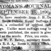 Page 52 : [news clipping: Equal Suffrage Song Book[