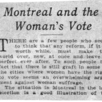 Page 044 : Montreal and the Woman's Vote (incomplete)