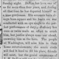 Page 19 : [news clipping: J.H. DeVoe accepts new position]