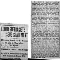 Page 166 : Elder suffragists Issue Statement (part 1)