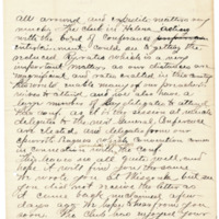 Letter from Wilder Nutting to Emma Smith DeVoe, 6/25/1895, page 3