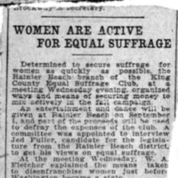 Page 007 : Women Are Active for Equal Suffrage