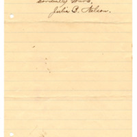 Letter from Julia Nelson to Emma Smith DeVoe, 4/22/1895, page 4