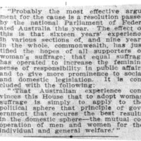 Page 033 : [Positive Impact of Suffrage in Australia]