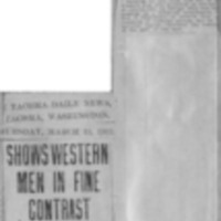 Page 003 : Shows Western Men in Fine Contrast
