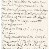 Letter from Minnie Jackson to Emma Smith DeVoe, 2/15/1911, page 2