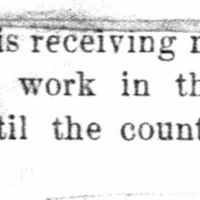 Page 35 : [news clipping: Emma Smith DeVoe Organizes Counties]