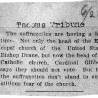 Page 025 : [news clipping: Bishop and Cardinal Say Not to Vote]