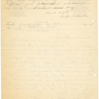 Letter from LaReine Baker to May Grinnell, 10/30/1908, page 2