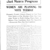 Page 043 : Women Are Planning To Vote Tuesday