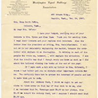 Letter from Cora Smith Eaton to Emma Smith DeVoe, 12/18/1907, page 1
