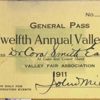 Page 186 : General Pass: Twelfth Annual Valley Fair