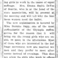 Page 069 : Interest Young Suffragettes