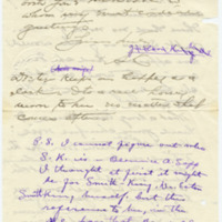 Letter from S.K. to Emma Smith DeVoe, 11/14/1912, page 2