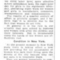 Page 094 : [Head of the National Consumers' League Says the Women Should Vote]