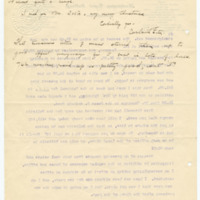 Letter from Cora Smith Eaton to Emma Smith DeVoe, 12/18/1907, page 3
