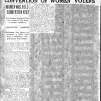Page 063 : Tacoma Will Have First Convention Of Women Voters