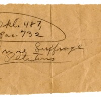 Page 137 : June Suffrage Petitions