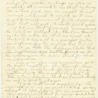 Letter from Ida A. Allen to Emma Smith DeVoe, 11/11/1909, page 2