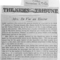 Page 033 : Mrs. DeVoe an Elector