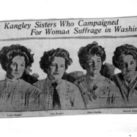 Page 004 : Four Kangley Sisters Who Campaigned for Woman Suffrage in Washington