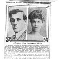 Page 121 : Washington Supreme Court Stenographer Weds Indiana Man