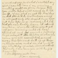 Letter from Harry Ferguson to Emma Smith DeVoe, 3/10/1909, page 2