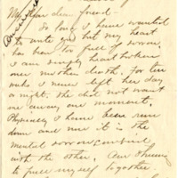 Letter from Edyth Weatherred to Emma Smith DeVoe, 4/16/1912, page 1