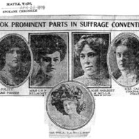 Page 096 : Took Prominent Parts in Suffrage Convention