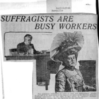 Page 007 : Suffragists Are Busy Workers