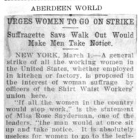 Page 005 : Urges Women to go on Strike