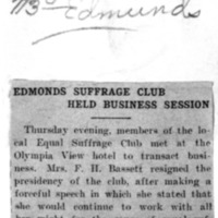 Page 097 : Edmonds Suffrage Club Held Business Session