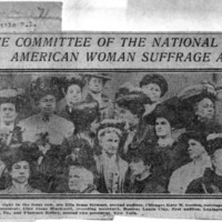 Page 062 : Executive Committee of the National American woman Suffrage Association