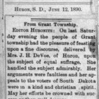 Page 42 : From Grant Township