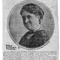 Page 117 : News for Women -- Suffrage Plea on Paper Bags Sent to Brooklyn Housewives