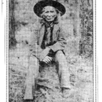 Page 134 : Klickitat Chief, Said To Be Only Person Living Who Saw Lewis And Clark Expedition