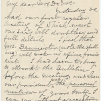 Letter from Luci Isaacs to Emma Smith DeVoe, 4/17/1908, page 1
