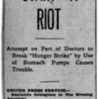 Page 145 : Suffragettes Start a Riot