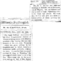 Page 053 : [news clipping: Equal Suffrage Association Purchase One-Star Flags]