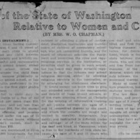 Page 002 : Laws of the State of Washington Relative to Women and Children (Seventh Instalment)