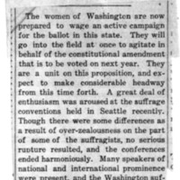 Page 013 : [news clipping: Washington Active for Vote]